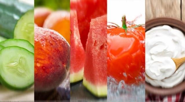 Aşırı sıcaklarda su deposu 8 besin kaynağı