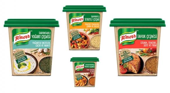 Knorr yeni çeşni serisi ile lezzet tutkunlarına ilham veriyor