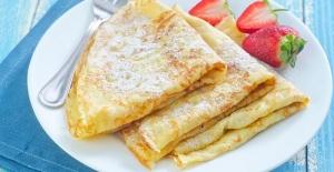 Pratik ve lezzetli krep tarifi