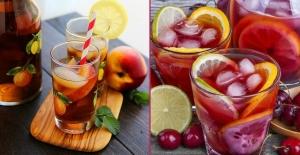 Sıcak havalara özel soğuk çay tarifleri