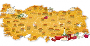 Türkiye'nin lezzet haritası düzenlendi